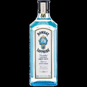 Bombay Sapphire 70 CL NU met gratis glas
