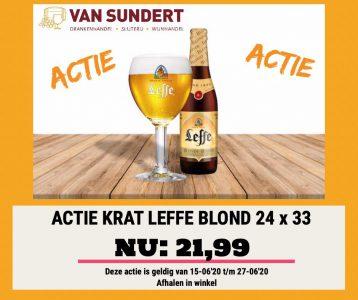 LEFFE BLOND ACTIE t/m 27-06-2020