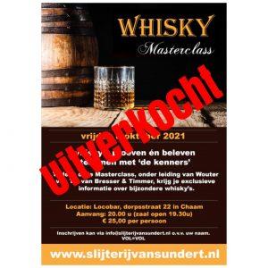 Whisky Masterclass 08-010-2021